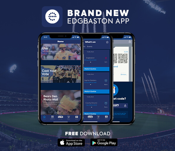 Edgbaston App - Launch